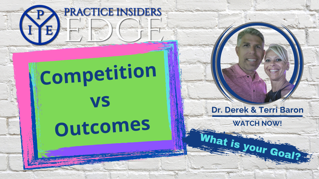 Competition vs Outcomes  - what is best for your business and patients?